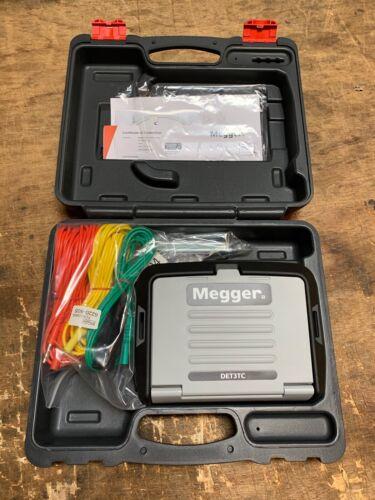 Megger DET3TC 3 Terminal Earth Ground Resistance Tester...NEW!
