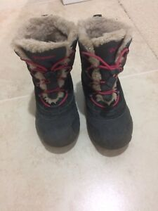 Columbia Girls Winter Boots, Size-12