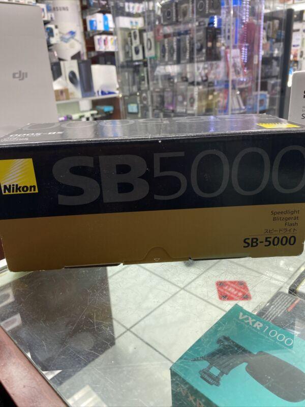 Nikon SB-5000 AF Speedlight, Black (4815)