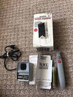 Iso-tip Model 7700 Quick Charge Cordless Soldering Iron With 3 Extra Tips