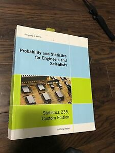Probability and Statistics for Engineers and Scientists Stat 235