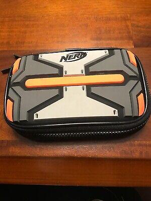 Nerf Armor Protective Case for Nintendo DS Lite Black/Orange/grey Zipper