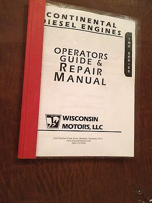 Wisconsin Engine Service Parts List Manual Tmd