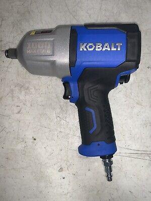 Kobalt Sgy-air236 12 1000-ft-lbs Air Pneumatic Impact Wrench Tool