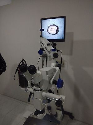 5 Step Dental Surgical Microscope - Motorized With Accessories - Free Shipping