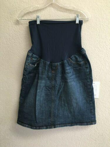 Indigo Blue Jean Skirt Size M