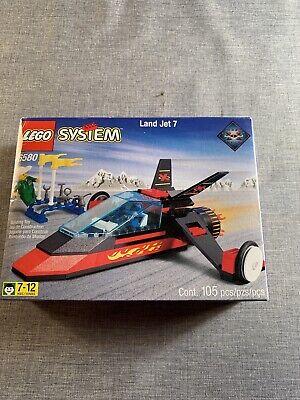 Vintage Lego System 6580 Land Jet 7 Set New/Never Opened