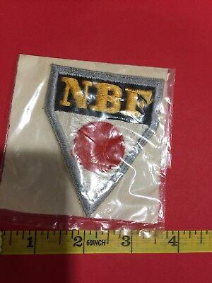 Vintage NBF NIHON BOWLERS CONFEDERATION Bowling Patch - Japan 86NH