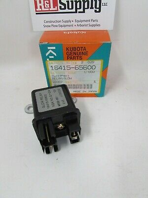 New Genuine Kubota Glow Plug Relay 16415-65600 D722 D902 D905 D1105 V3300