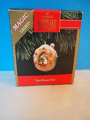 "1992 Hallmark Christmas Ornament, ""Nut Sweet Nut"""