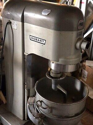 Hobart P660 Commercial 60 Qt Pizza Dough Mixer W60qt Bowl And Hook.
