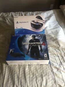 PS4 with virtual reality