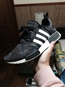 Adidas NMD X BAPE Black camo Newest pk version (US 11) Melbourne CBD Melbourne City Preview