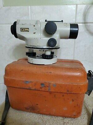 Nikon Az-1 Engineers Automatic Level Wcase