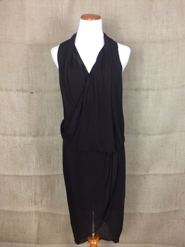"Helmut Lang ""Wisp"" Dress Size 6 New"