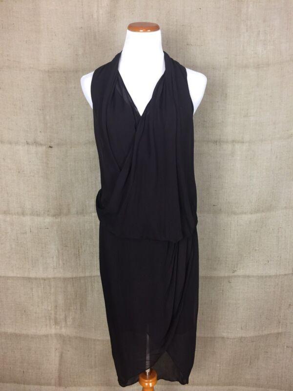 "Helmut Lang ""Wisp"" Dress Size 6 New"