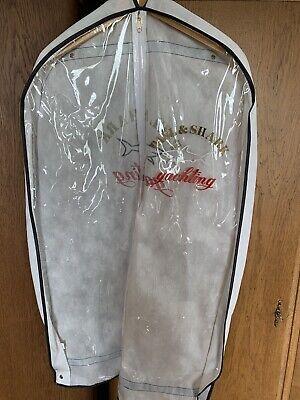 Paul Shark Kleidersack weiß für Anzug und Kleid