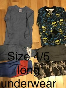 Size 4/5 long underwear