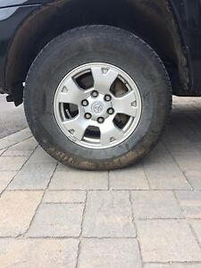 Summer Tires for sale P245/75R16