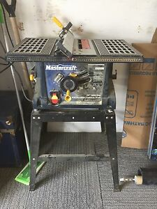 """Mastercraft 10"""" Table Saw and Stand"""