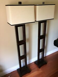 2 Bombay Floor Lamps