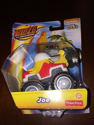 Blaze and the Monster Machines Joe Die-Cast Toy Vehicle New](Monster Machines)