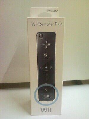 Nintendo Manette wii motion remote plus noir