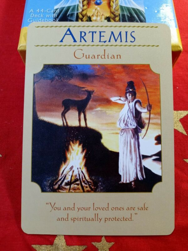 Artemis - Single Card Replacement - Authentic Goddess Guidance Doreen Virtue