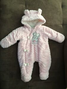 Multiple girls snow suits and winter coat