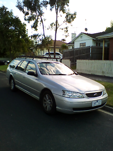 2003 Ford Falcon BA Wagon Jacana Hume Area Preview