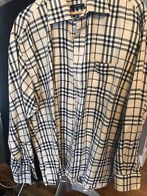 Burberry XL Plaid Shirt Authentic