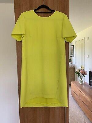 Whistles Yellow Dress Size 10