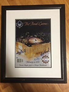 """The Final Game"" Autographed Picture"