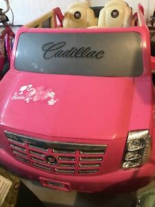 Barbie Cadillac Escalade Power Wheels