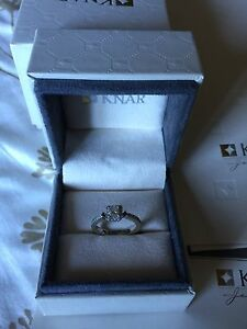White Gold Engagement Ring Cambridge Kitchener Area image 4