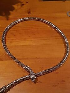 Vintage snake style Gold necklet in  excellent condition Lockleys West Torrens Area Preview