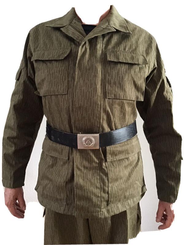 "East German Army NVA Rain Camo ""Strichmuster"" 5 Piece Uniform Unissued"