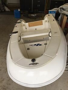 REDUCED!!! Dinghy solid fiberglass boat 8.6' long