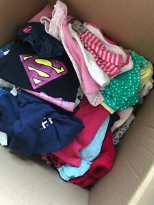 Huge box of girl clothes!!