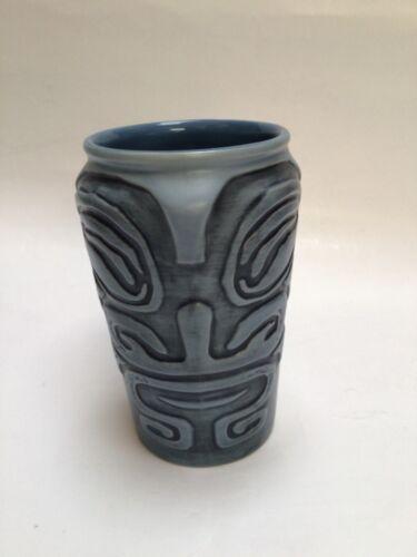 Trader Vic's San Jose SJC Marquesan Drum Tiki Mug Cup 16 oz Planter Succulents