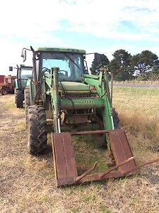 Tractor john Deere 6400 front end loader 640 wrecking Camperdown Corangamite Area Preview
