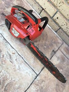 Petrol Chainsaw with new chain very reliable Tanah Merah Logan Area Preview