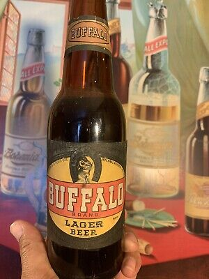 rare buffalo brewing co the black label lager beer IRTP