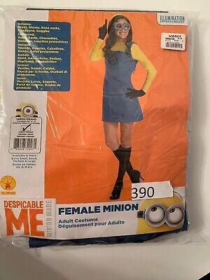 Minion Costume For Women (Women's Female Minion Costume, Large 10-14)