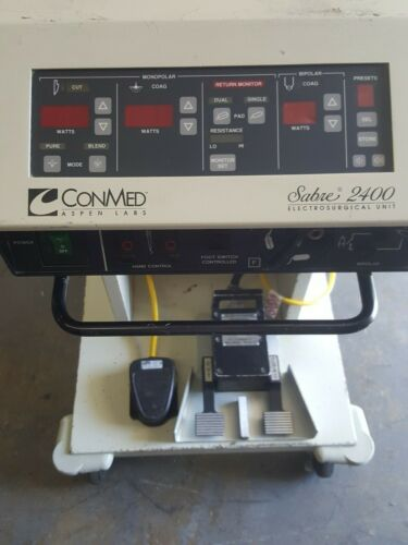 CONMED ASPEN LABS Sabre 2400 Electrosurgical Unit