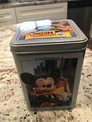 Vintage Nestle Toll House Walt Disney World Tin It's Time To Remember The Magic