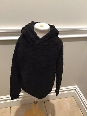 Finger In The Nose Fuzzy Hoody Top 6/7 Nwt