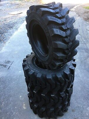 4 New Hd 14-17.5 Camso Sks732 Skid Steer Tires For Bobcat 14x17.5- 4032nd Tread