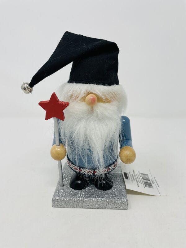 """Hobby Lobby Christmas Gnome Nutcracker 7"""" Tall w/Tag"""