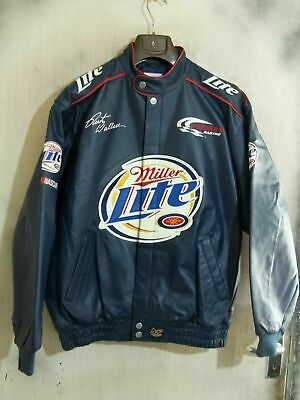 BNWOT VINTAGE CHASE NASCAR LEATHER JACKET SIZE L
